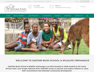 daktaribushschool.org screenshot
