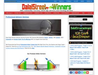 dalalstreetwinners.com screenshot