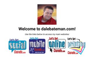 dalebateman.com screenshot