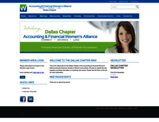 dallasafwa.starchapter.com screenshot