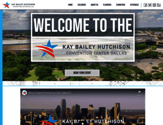 dallasconventioncenter.com screenshot