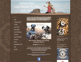dalmatiner-vom-hause-picolino.de screenshot