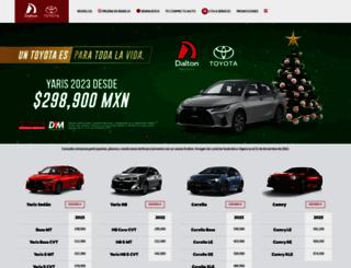 daltontoyota.com.mx screenshot
