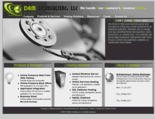 dam-consulting.com screenshot