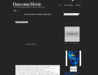 dam999movie.blogspot.com screenshot