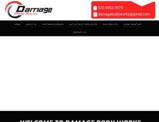 damagebodyworks.com.au screenshot