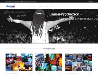damaiproduction.co.id screenshot