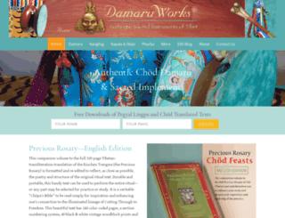 damaruworks.com screenshot
