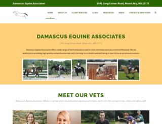 damascusequine.com screenshot