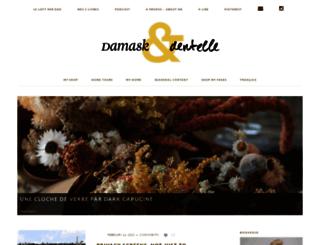 damasketdentelle.com screenshot