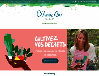 dame-bio.fr screenshot