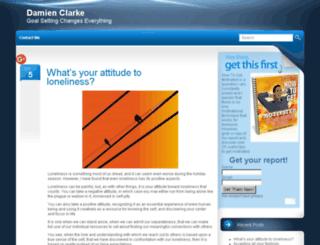 damienclarke.net screenshot