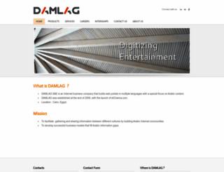 damlag.com screenshot