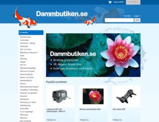 dammbutiken.se screenshot