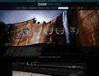 damnationfilm.com screenshot