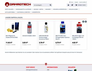 damrotech.com screenshot