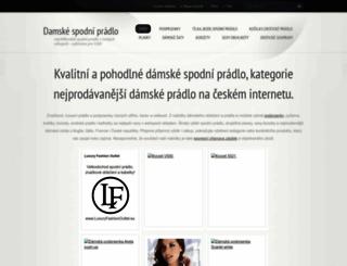 damskepradlo.webnode.cz screenshot