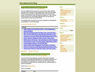 danabbamont.wordpress.com screenshot