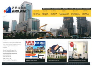 danaffgroup.com screenshot