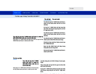 danang.gov.vn screenshot