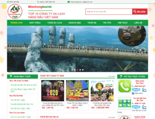 danangtourist.net.vn screenshot