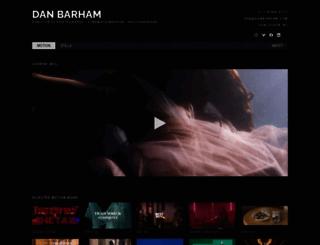 danbarham.com screenshot