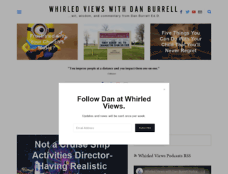 danburrell.com screenshot