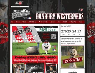 danburywesterners.pointstreaksites.com screenshot
