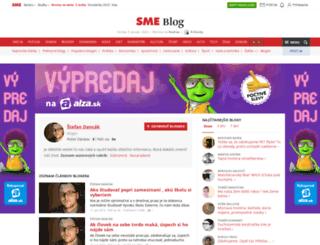 dancak.blog.sme.sk screenshot