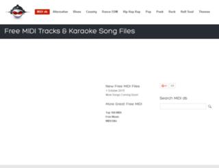 dance.mididb.com screenshot