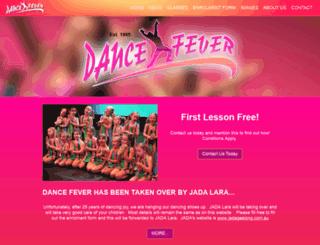 dancefever95.com.au screenshot