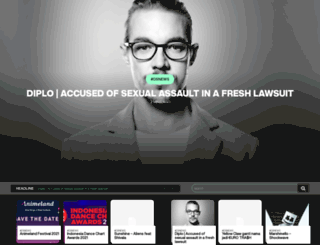 dancesignal.com screenshot