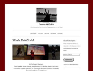 danceswithfat.wordpress.com screenshot