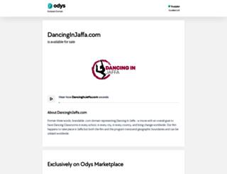 dancinginjaffa.com screenshot