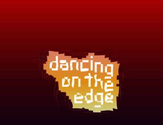 dancingontheedge.nl screenshot
