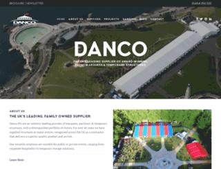 danco.co.uk screenshot
