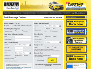 dandenongtaxis.com.au screenshot