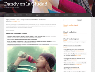dandienlaciudad.wordpress.com screenshot