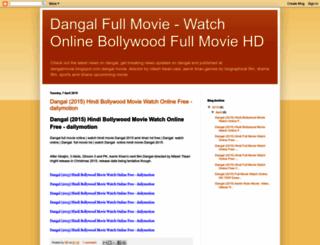Access Dangalmovieblogspotin Dangal 2015 Bollywood Hindi Full