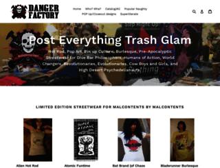dangerfactory.com screenshot