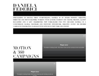 danielafederici.com screenshot