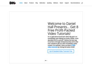 danielhallpresents.com screenshot