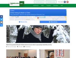 danielius.net screenshot
