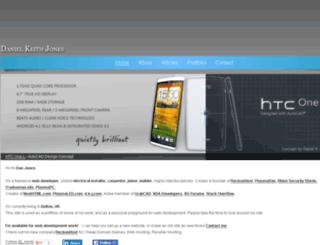 danielkeithjones.com screenshot