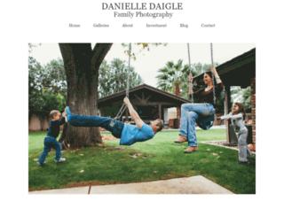 danielledaigle.com screenshot