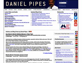 danielpipes.org screenshot