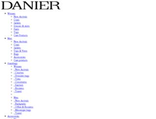 danier.mwnewsroom.com screenshot