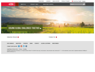 danisco.com screenshot