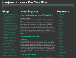 danjuanol.com screenshot