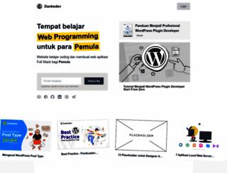 dankedev.com screenshot
